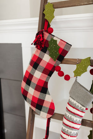 Mixed Buffalo Check Stocking