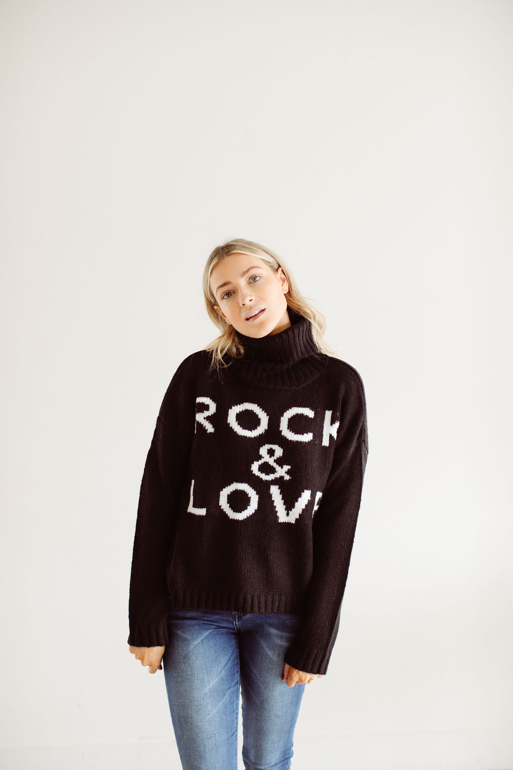 The Rock & Love Sweater