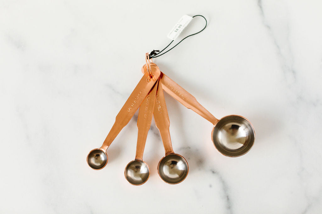 Rosegold Measuring Spoons