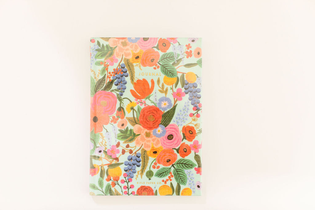 RIFLE PAPER CO. Garden Party Fabric Journal