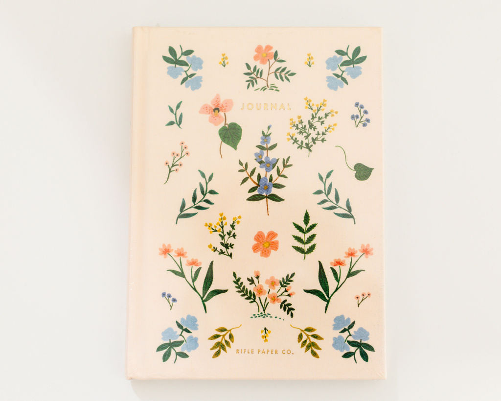 RIFLE PAPER CO. Wildwood Fabric Journal