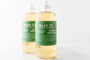 Honey Mint 16oz Dish Soap