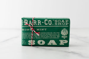 Honey Mint 6oz Paper Wrap Bar Soap