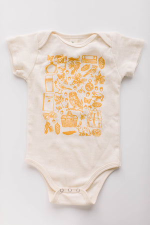 Birdwatcher Organic Cotton Bodysuit