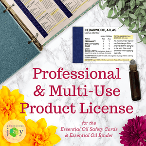 Essential Oil Safety Products: Professional & Multi-Use License