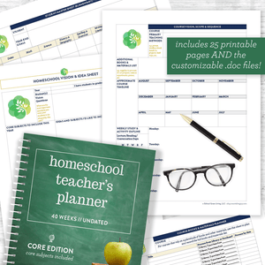 Plan your homeschool year with ease - and make your homeschool THRIVE!