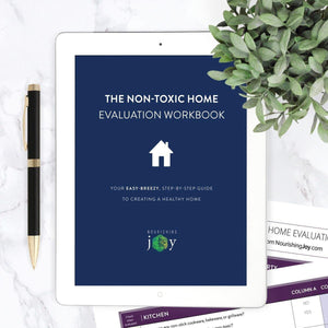 The Non-Toxic Home Evaluation Workbook