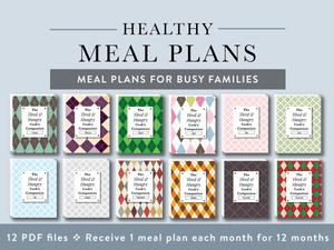 Meal Plans for Busy Families: Pre-Sale