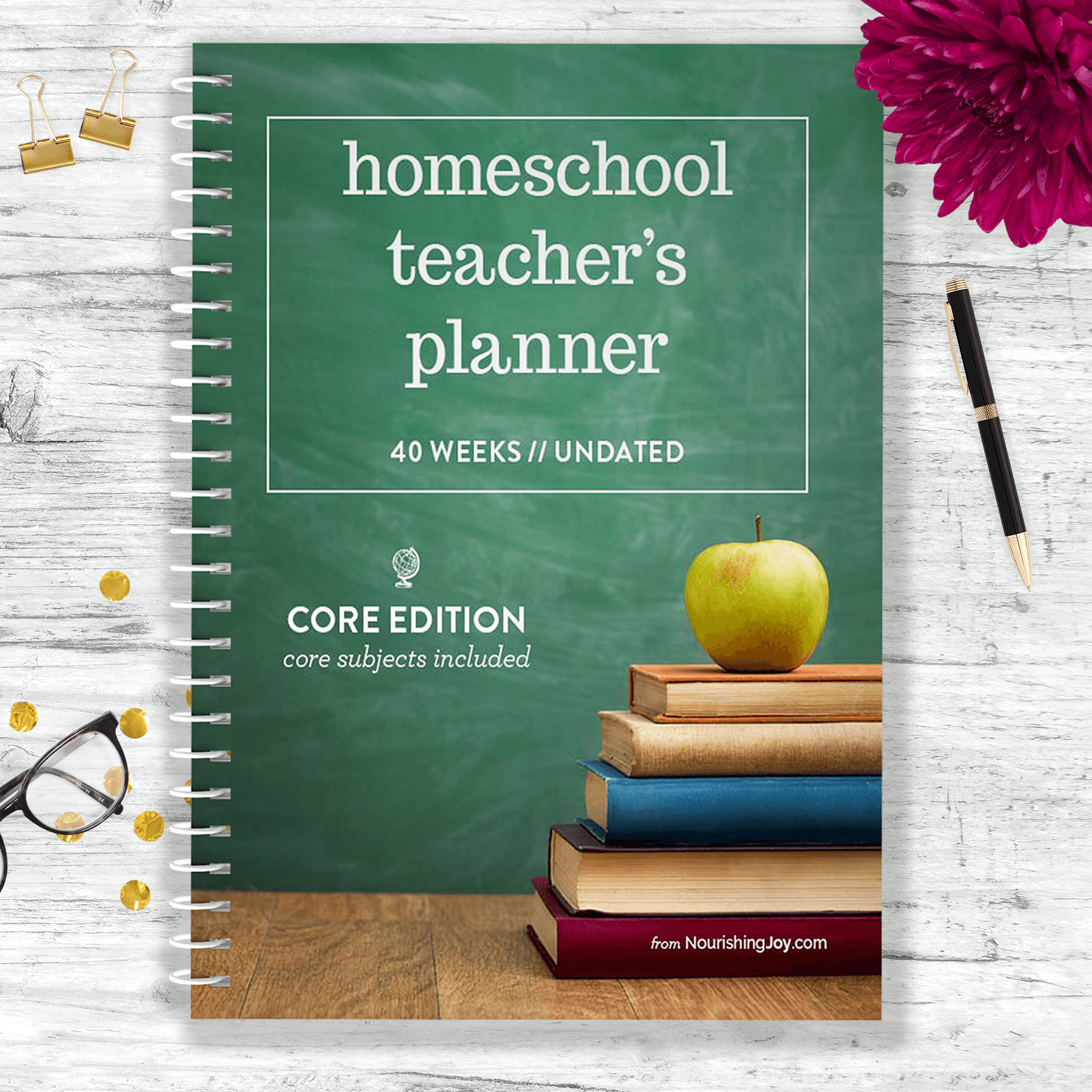 Homeschool teacher lesson planner