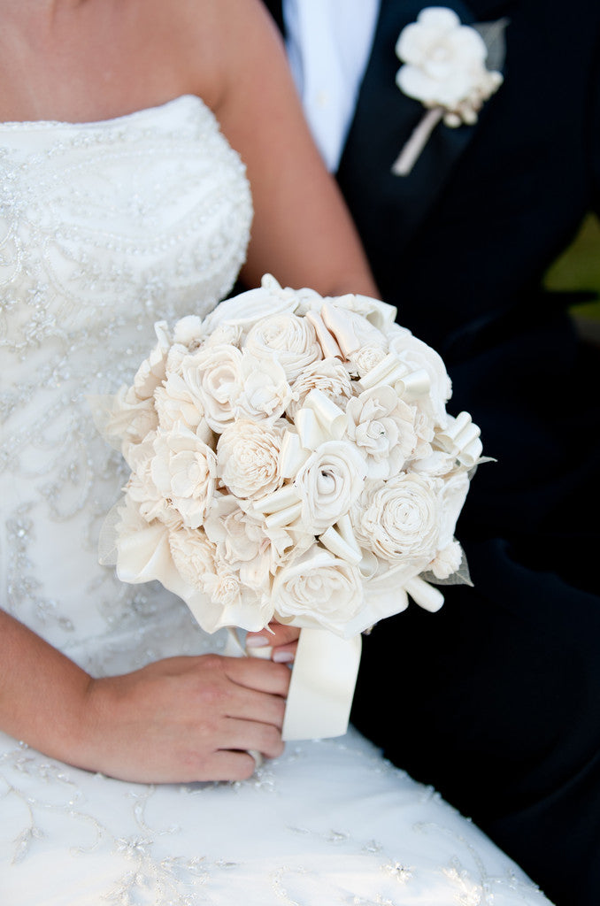 Soft Romantic Bridal Bouquet