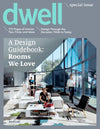 Crop Circles and Ikat Pixels Wallpaper in Dwell Magazine