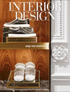 Aimee Wilder Pillows in Interior Design Magazine