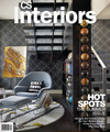 Loops wallpaper on the cover of CS Interiors Magazine