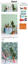 Pina Sola And Deliciosa Wallpaper in Poppytalk Magazine