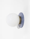 Lunar Sconce Eclipse in Blue