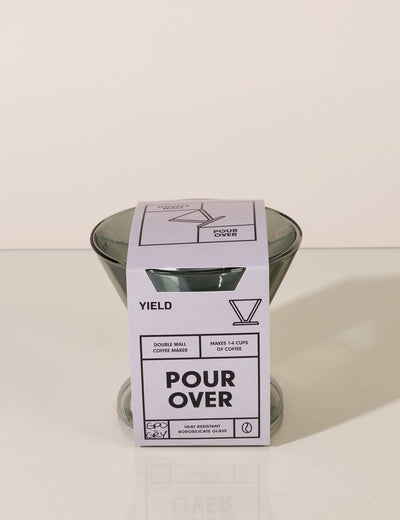 Yeild Design Grey Double-Wall Pour Over