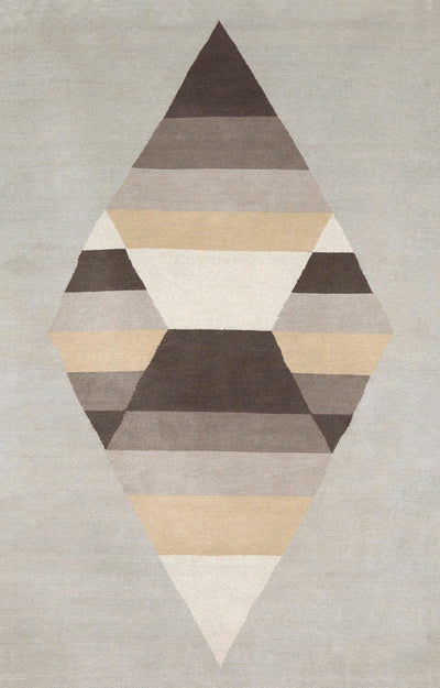 Prism One Diamond Rug Llama Silk