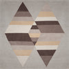 Prism Two Diamond Rug Llama Silk