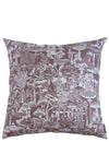 "Mushroom City Moonlit - 26"" x 26"" Pillow"