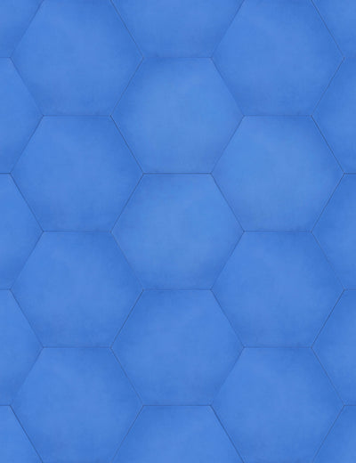 Solid Hex Azure