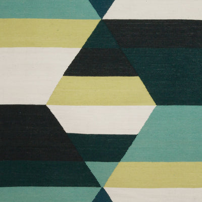 Prism Two Diamond Rug Viridian