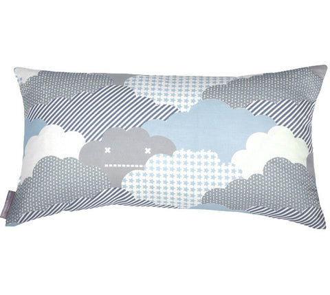 Clouds Storm Bolster Pillow