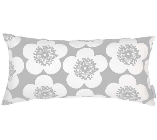 Pop Floral Greyhound Bolster Pillow