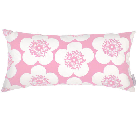 Pop Floral Peony Bolster