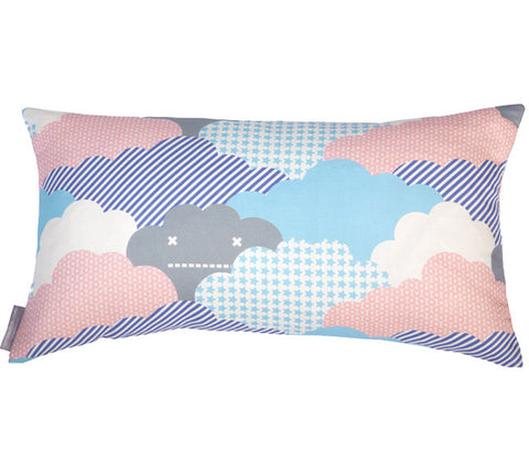 Clouds Sunshine Bolster Pillow