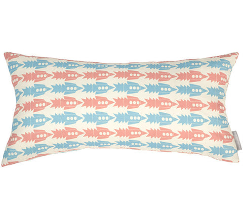 Rockets Vintage Bolster Pillow