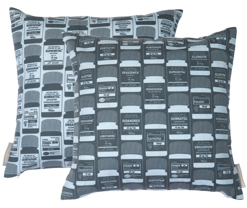 Brain Candy Thunder Inverted Square Pillow