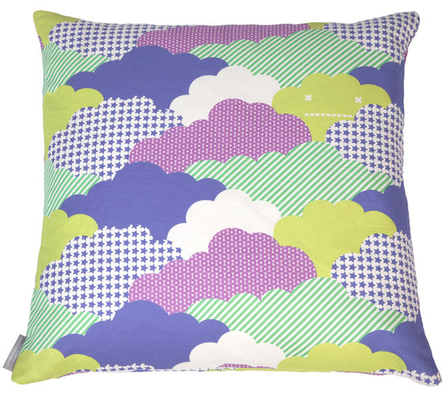"Clouds Sonic - 26"" x 26"" Pillow"