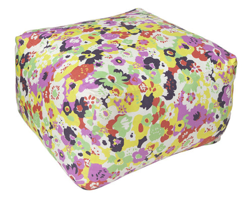Wildflower Calypso Pouf