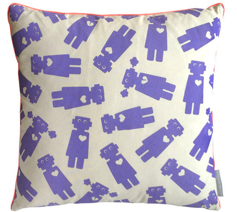 Girlbot Peri Square Pillow