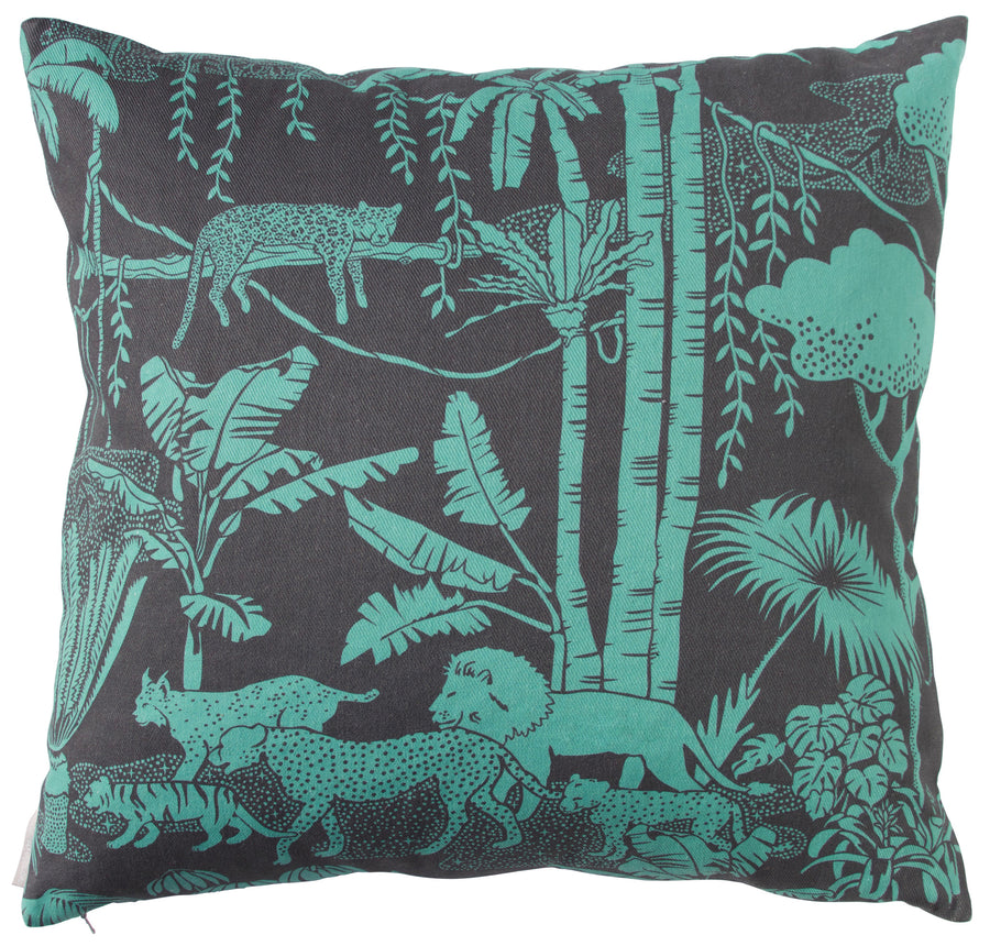 Jungle Dream Emerald Pillow