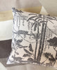 Jungle Dream Newsprint Pillow