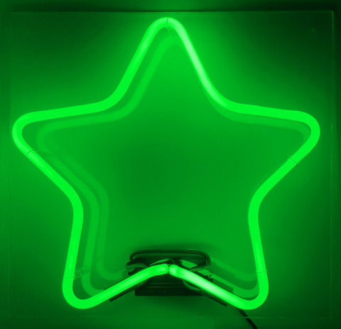 Rounded Star Green