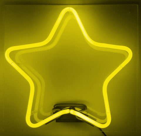 Rounded Star Yellow