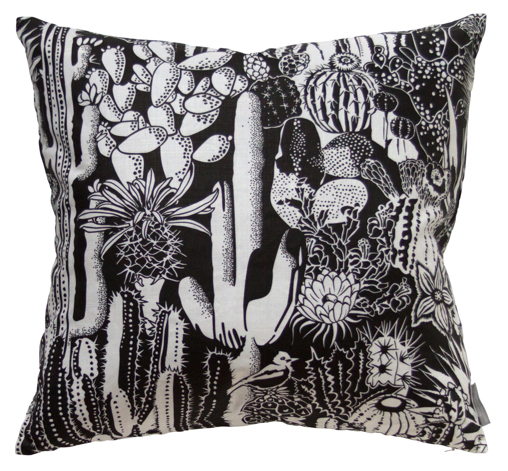 Cactus Spirit Contrast Pillow