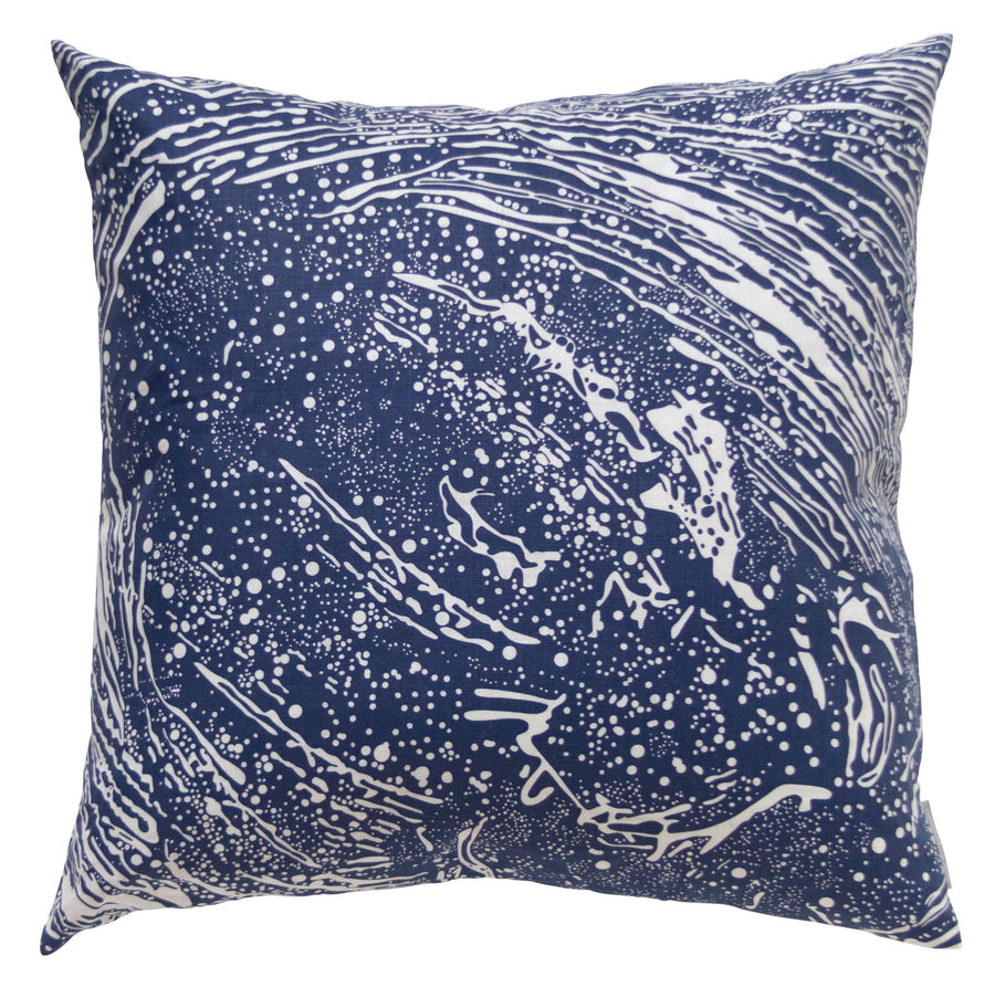 "Cosmic Splash Lazurite - 22"" x 22"" Pillow"