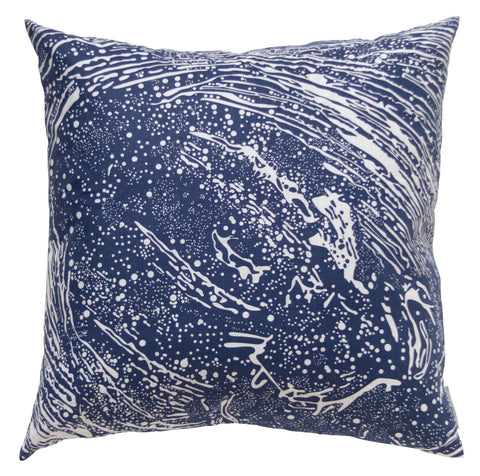 Cosmic Splash Lazurite Pillow