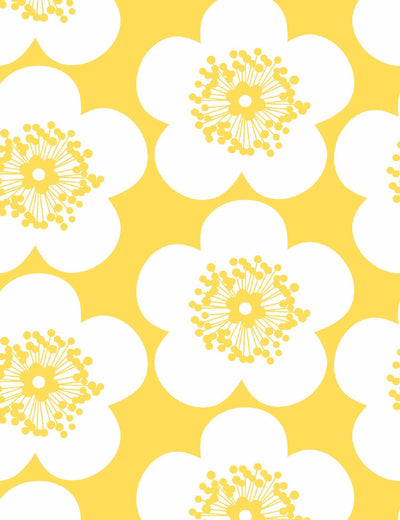 Pop Floral Lemon