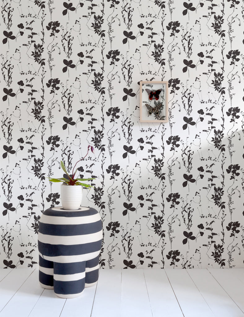 ... NYC Designed In Williamsburg Designer Wallpaper Dove Dust Floral  Flowers Home Decor Made In USA Petal Plant Pressed Rose Spring Tesla  Vintage Wallpaper