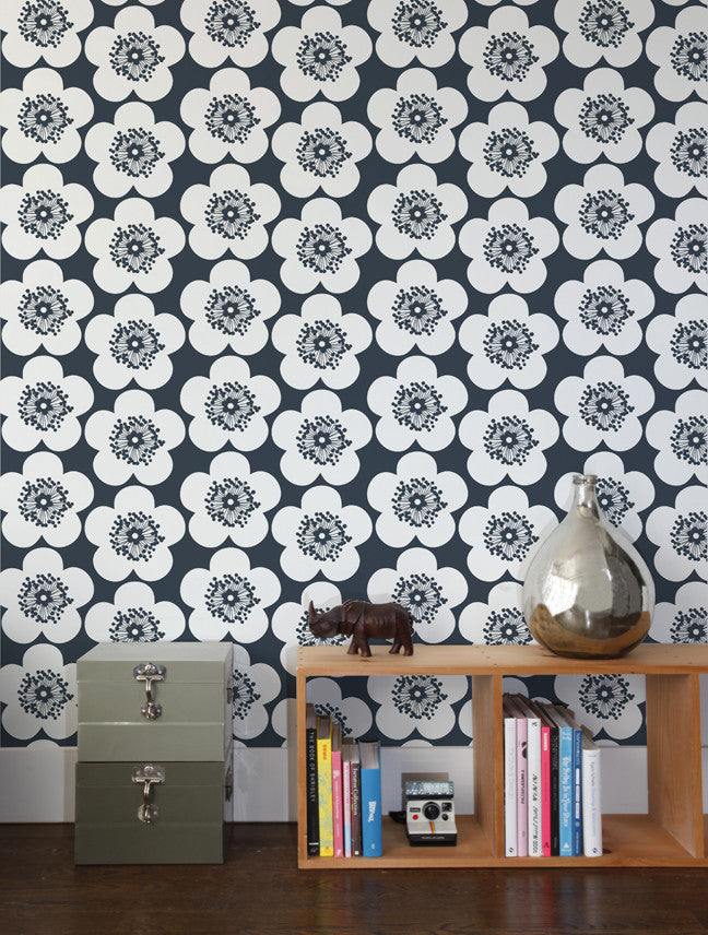 Pop Floral Designer Wallpaper By Aimee Wilder Made In The USA