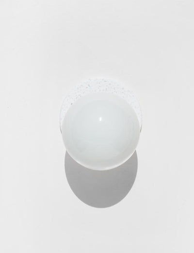 Lunar Sconce Crescent in White