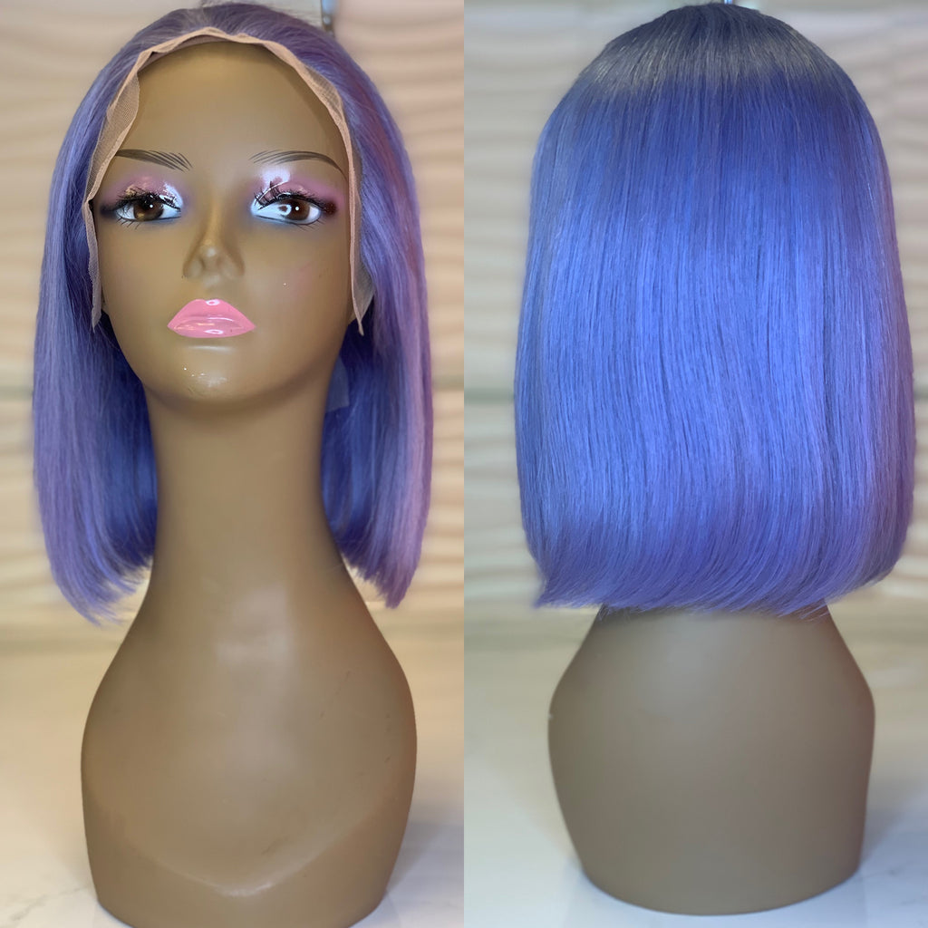 Baby Blue Lace Wig