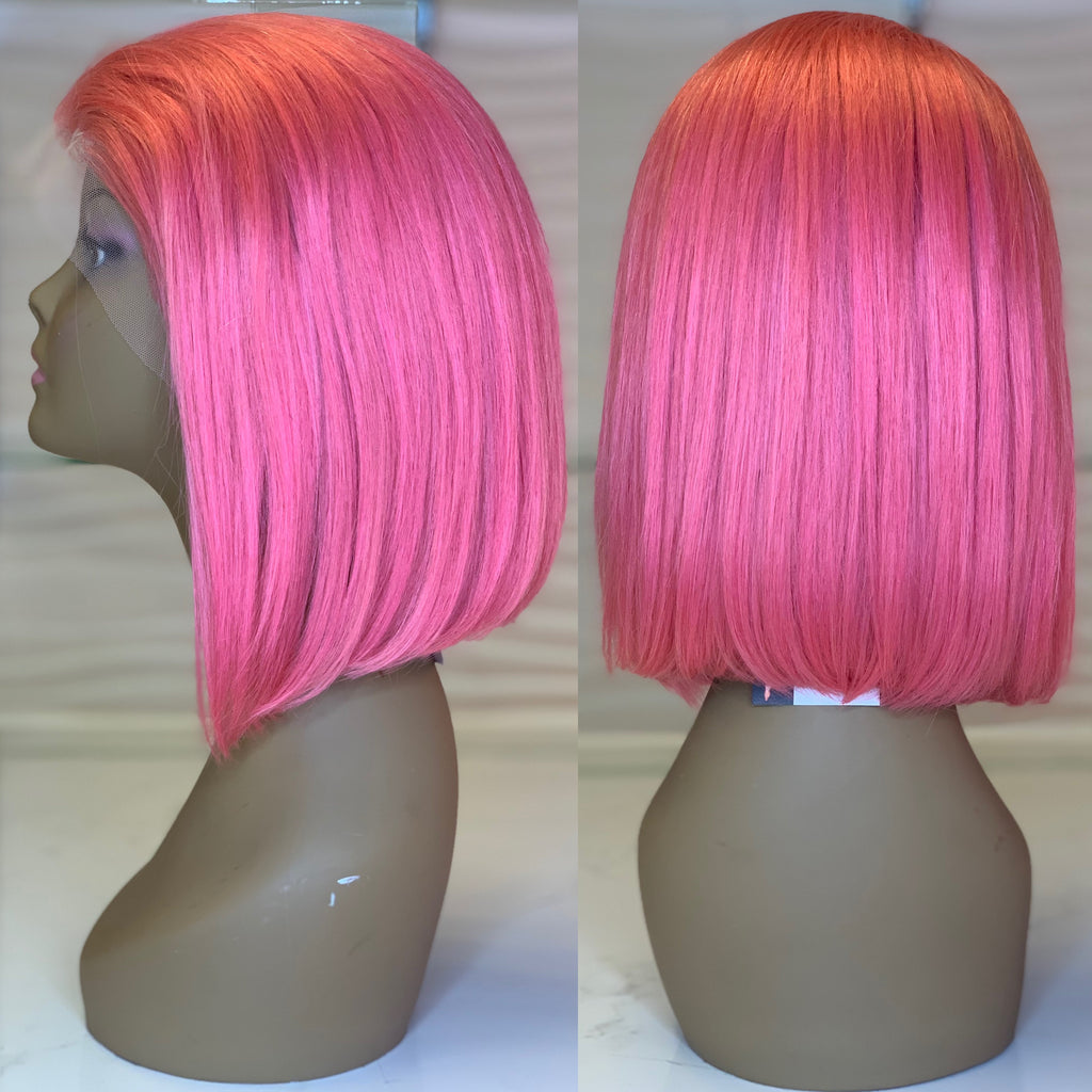 Barbie Pink Lace Wig