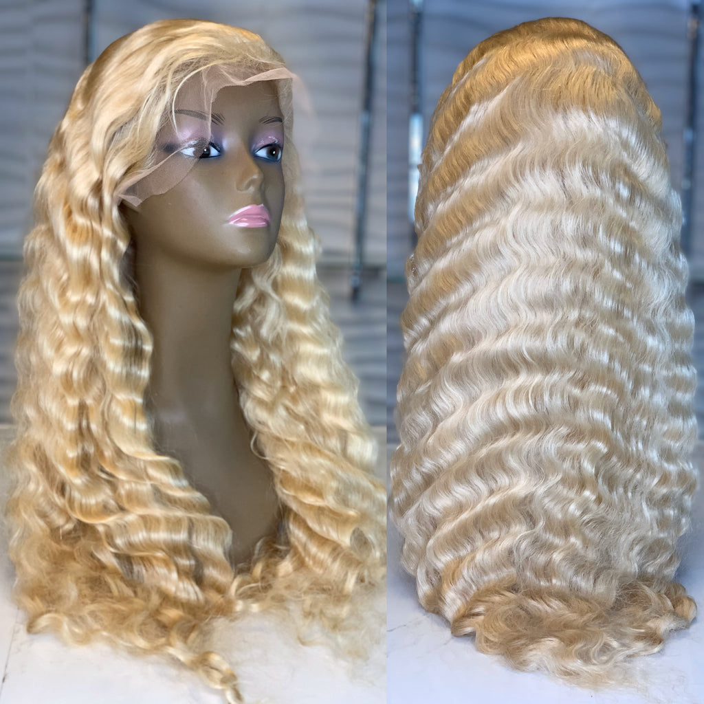 613 Deep Wave Lace Wig