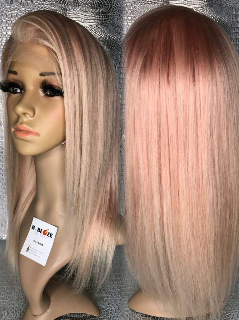 Bubble Gum Lace Wig