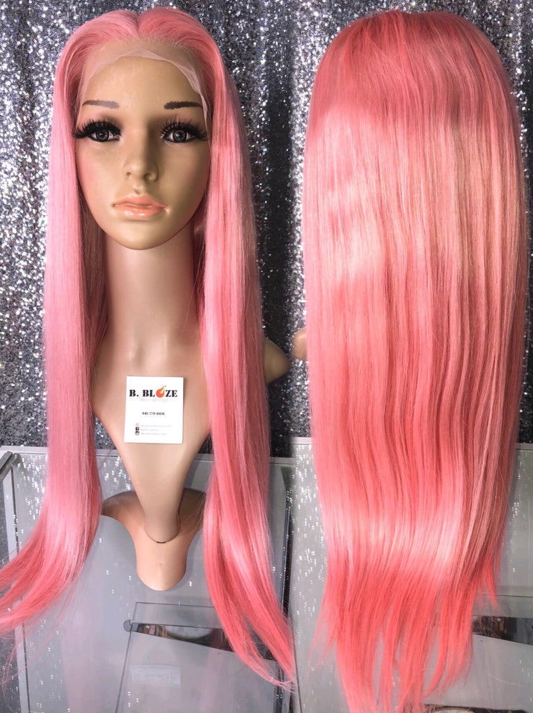 Cotton Candy Lace Wig